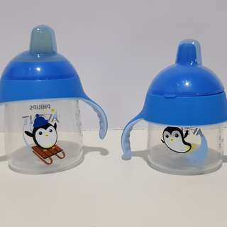 Philips Avent sippy cup 7oz and 9oz
