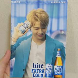 Wanna One Hite Photocard