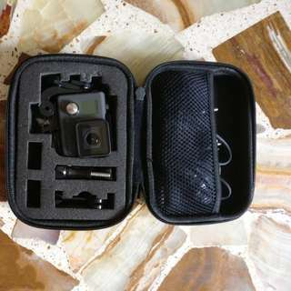 Gopro hero 2015 with chest strap, waterproof accessories box