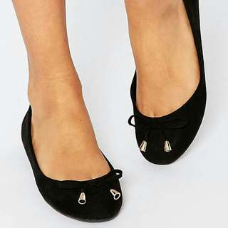 Black Ballet Shoes flats