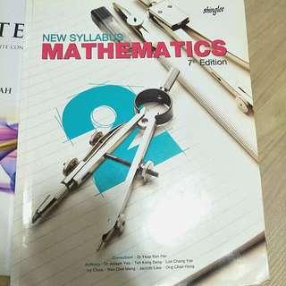 Sec 2 textbook e math