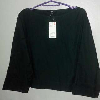Brand New Uniqlo 3/4 Sleeve Blouse
