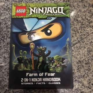 Lego Ninjago 2 in 1 book