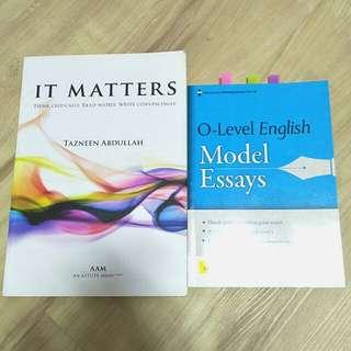 O level english books