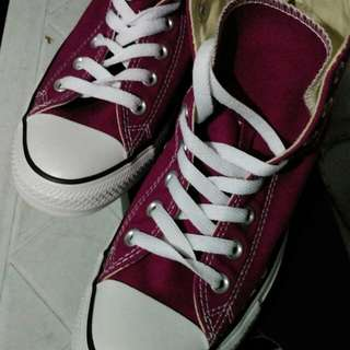 reprice!!!hi cut converse shoes