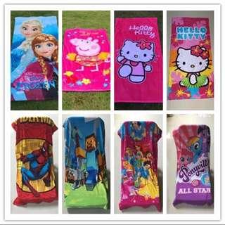 PO Kids towel brand new ht 150cm wt 75cm
