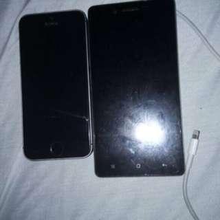 iPhone 5s oppo neo 7