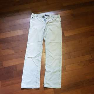 Armani Jean's light blue