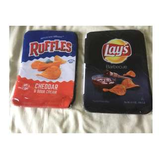 Computer Bag Lays and Ruffles Potato Chips