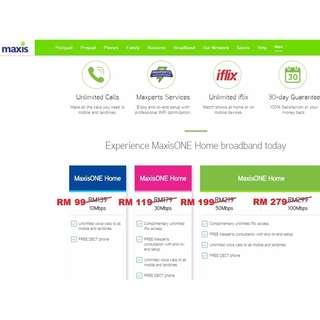 Maxis Home Fibre Internet (UNiFi)
