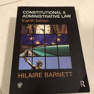 Constitutional & Administrative Law (Eighth Edition) Routledge - Hilaire Barnett