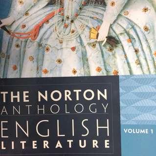 The Norton Anthology English Literature 9th vol.1
