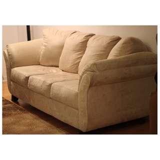COZY Leon's® Beige Sofa (Non-Smoking & No-Pets Home!)
