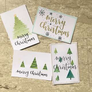 handmade Christmas cards!!
