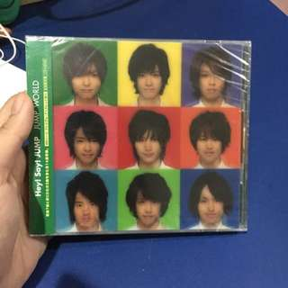 Hey! Say! JUMP 2nd Album JUMP World Limited Edition