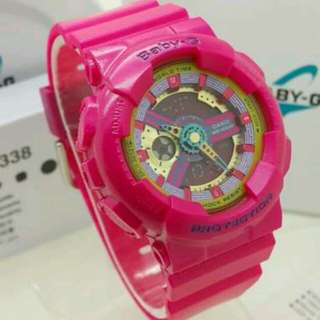Baby G shock Authentic watch Pink BA-110