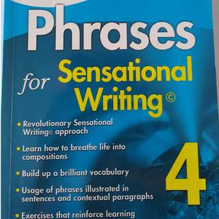 Casco English Language study guide - Phrases for sensational writing 4