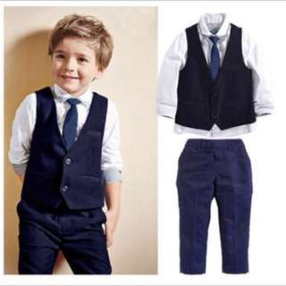 Boy Suit formal wear for wedding 6-7 years old
