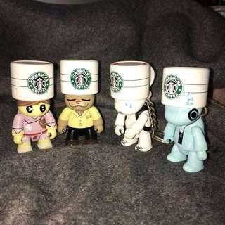🚚 Starbucks 星巴克 星偶像公仔 TOY2R庫柏力克熊 絕版收藏品