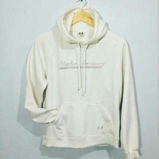 Under Armour White Hoodie Jacket