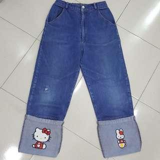 Hello kitty teen jeans