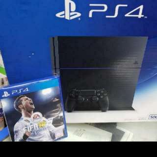 PS4 With Fifa 18 Or Any Other Game!