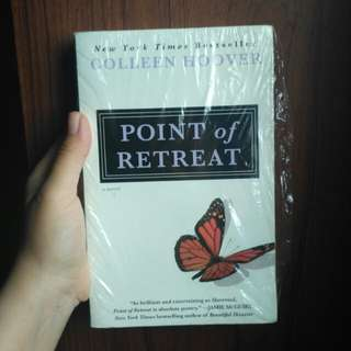 [REPRICE!] Colleen Hoover - Point of Retreat