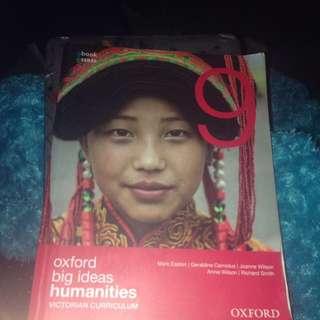 Oxford Big Ideas Humanities Year 9 Textbook