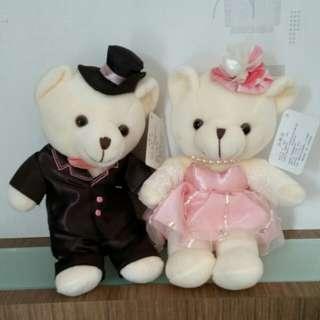 Wedding couple bear