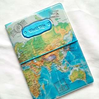3D Pattern Passport Holder