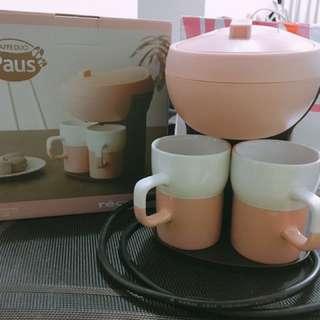 Recolte 日本麗克特粉色超可愛咖啡機