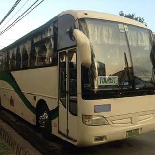 Bus For rent with videoke