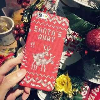 Supreme x Abercombie Reindeer Sweater style Phone Case