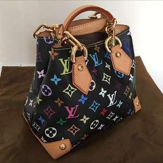 Louis Vuitton Limited Edition Murakami Multicolor Monogram Hand Bag