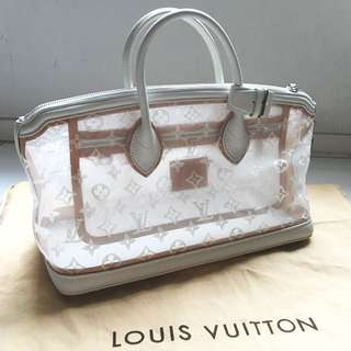 Louis Vutton Limited Transparent Stretched Locklit Bag LV手袋