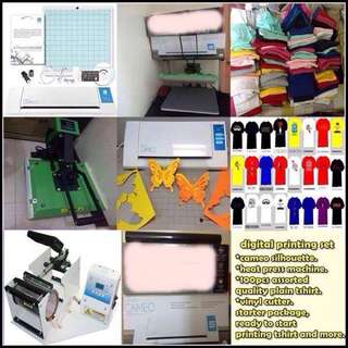 Digital printing bussiness package