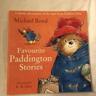 FAVORITE PADDINGTON stories (3 stories in one book)