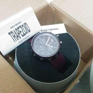 100%real 全新 ISSEY MIYAKE watch 三宅一生 手錶 錶 日本製 有單