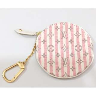 100%real Louis Vuitton LV Round Coin Purse 圓形零錢包 coins bag 散銀包