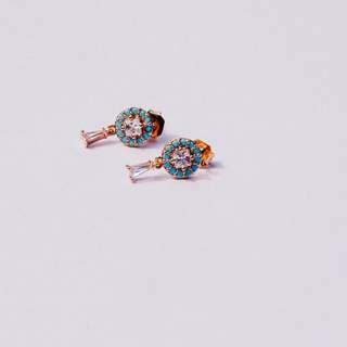 Turquoise Belldrop Earrings