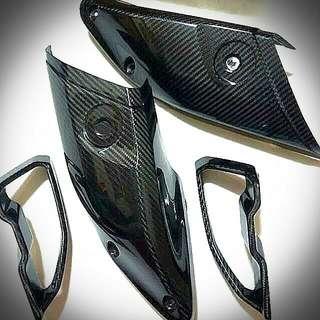 Yamaha Mt-10 / Mt10 Carbon Fibre Air Intake Covers