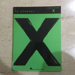Ed Sheeran Guitar Piano Vocal
