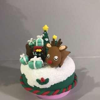 Christmas Tiffany music box