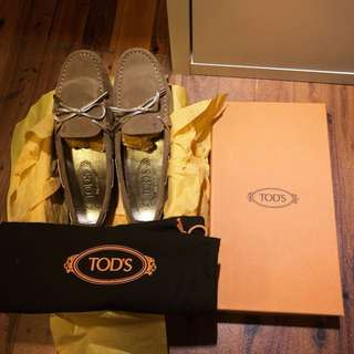 Authentic Tod's Suede Flats