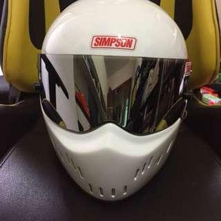 Simpson Full Face Helmet