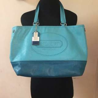 AUTHENTICS COACH TOTE BAG LIMITED EDITION