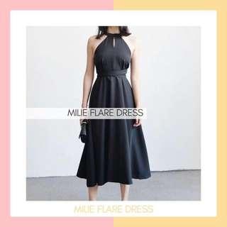 Millie Flare Dress (100% BARU)