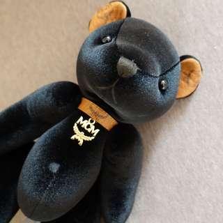 MCM 黑色熊bear (聖誕禮物)