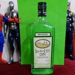 London Dry Gin 舊版毡酒