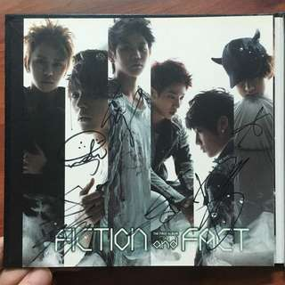 Beast Fiction and Fact Album Autographed